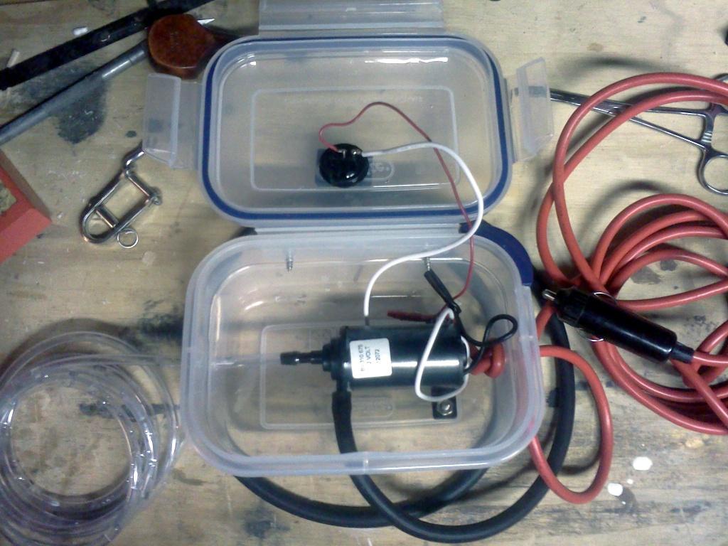 Micro Bilge Pump Open