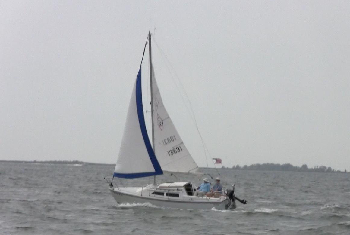 Catalina 22 - Sailing Fortuitous