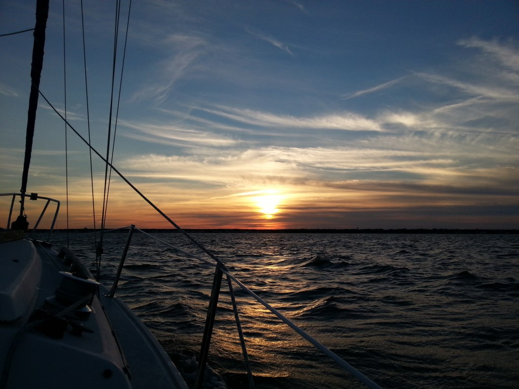 Sunset to Starboard