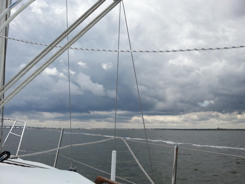 Rain over Manahawkin