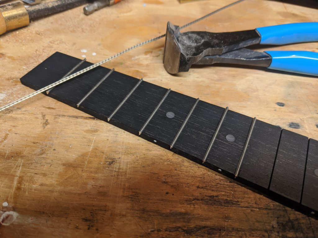 Fig. 10: Fret Installation