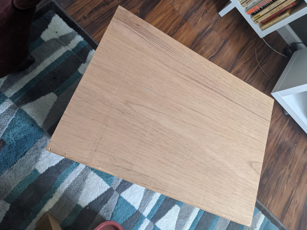 A block of Spanish Cedar