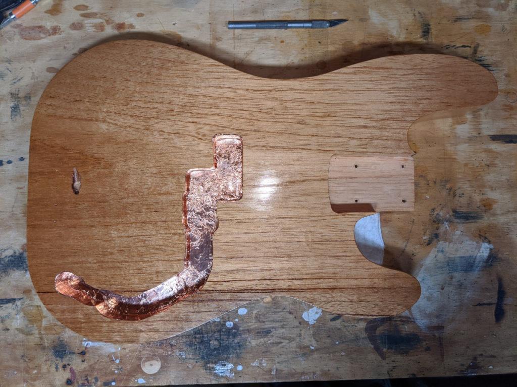 Copper Foul in Body Rout