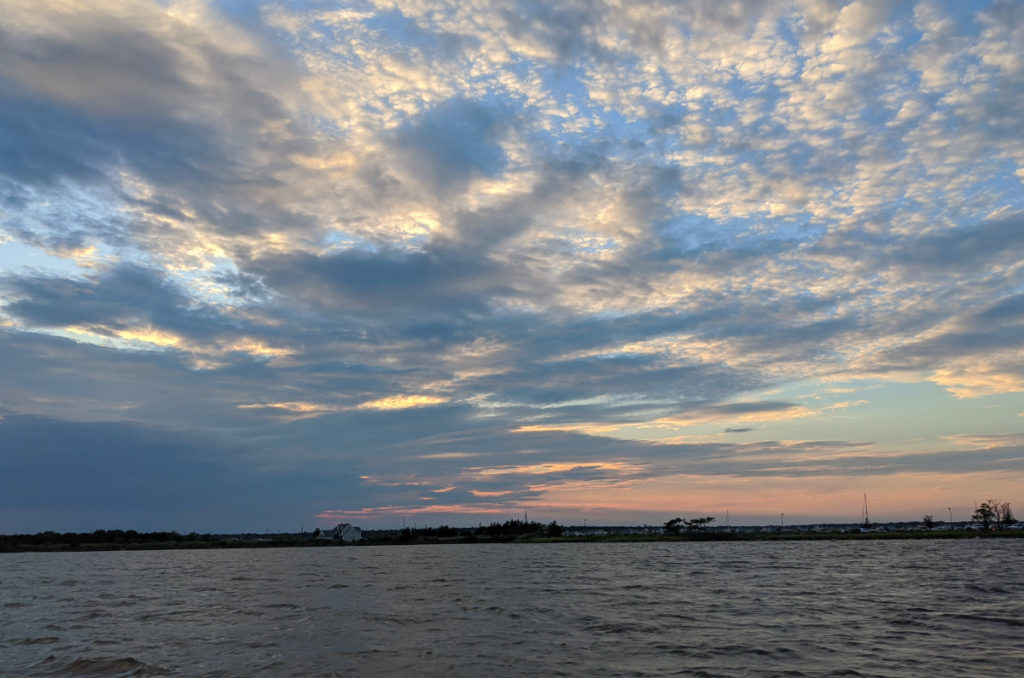 Sunset from Berkeley Island Cove