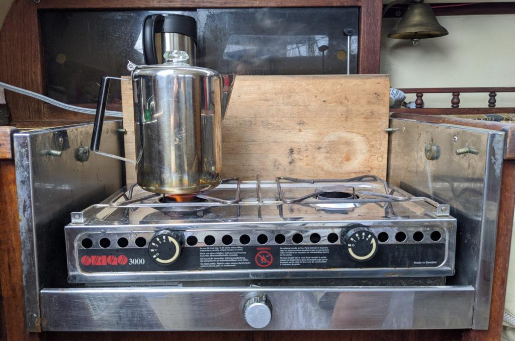Origo Stove, Making Coffee