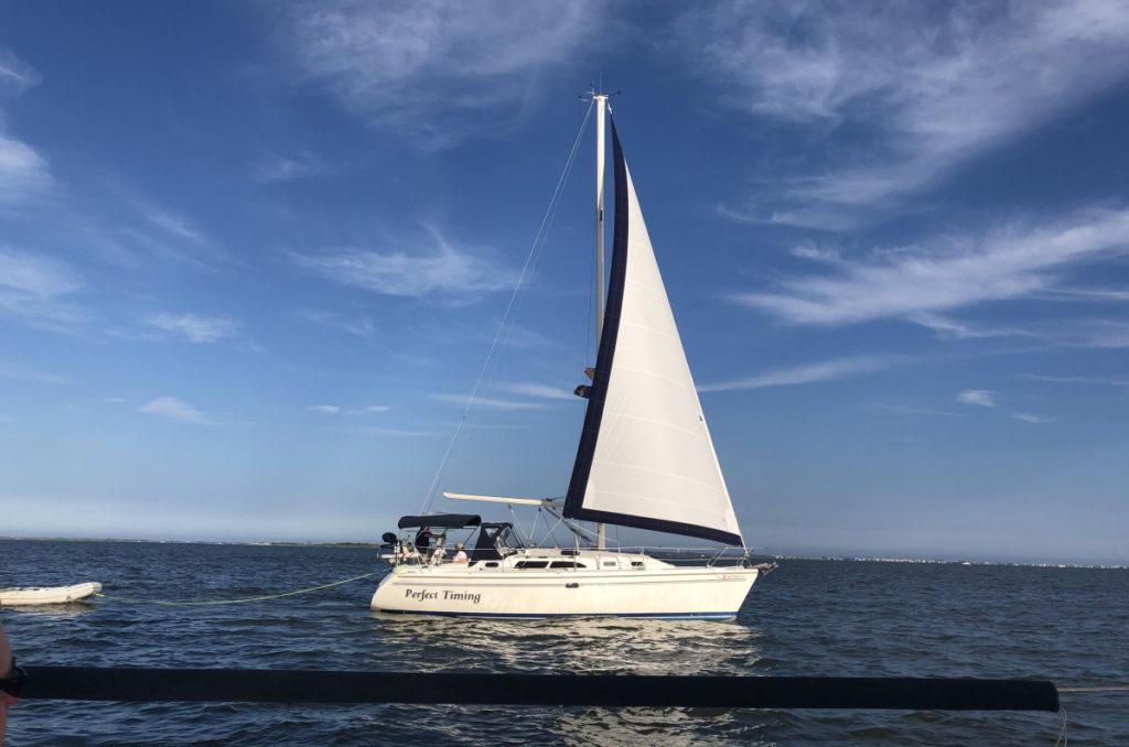 The Sailboat Perfect Timing