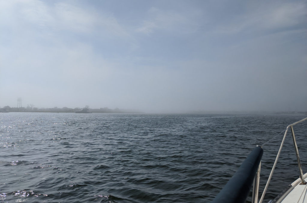 Fog in Viking Village