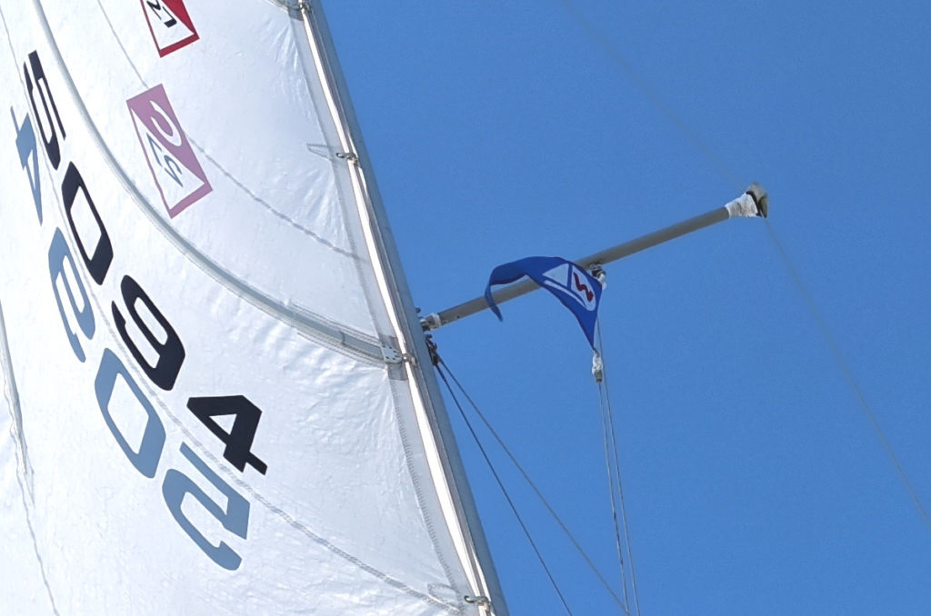 Club Burgee Flying