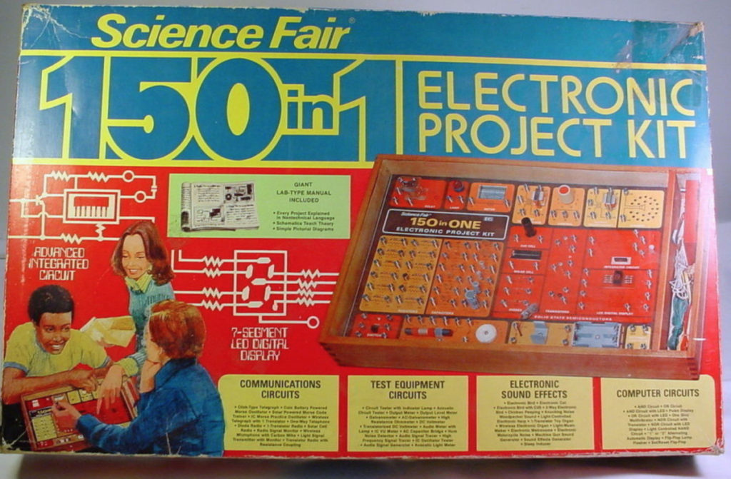Vintage Electronics Kit Toy