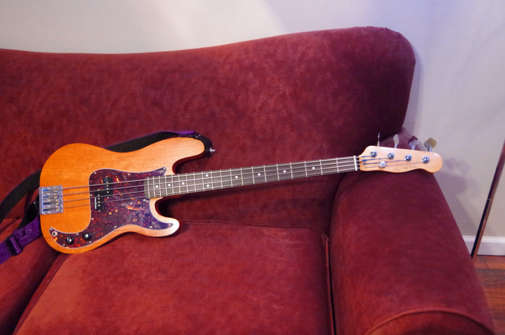 Finished Bass - Low Notes on the Couch