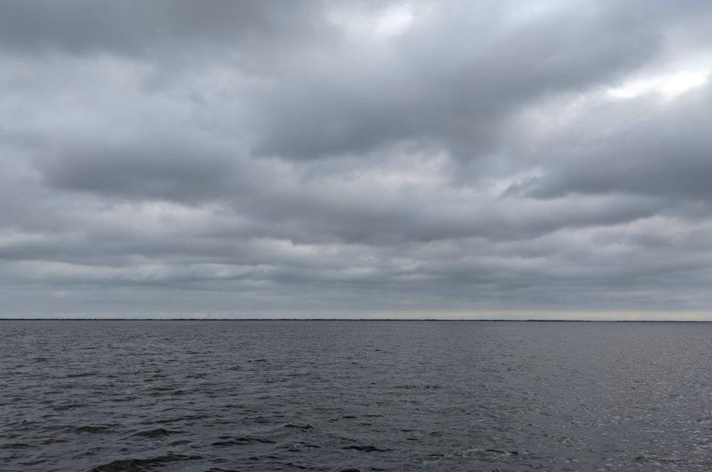 Gray Sky over Gray Bay
