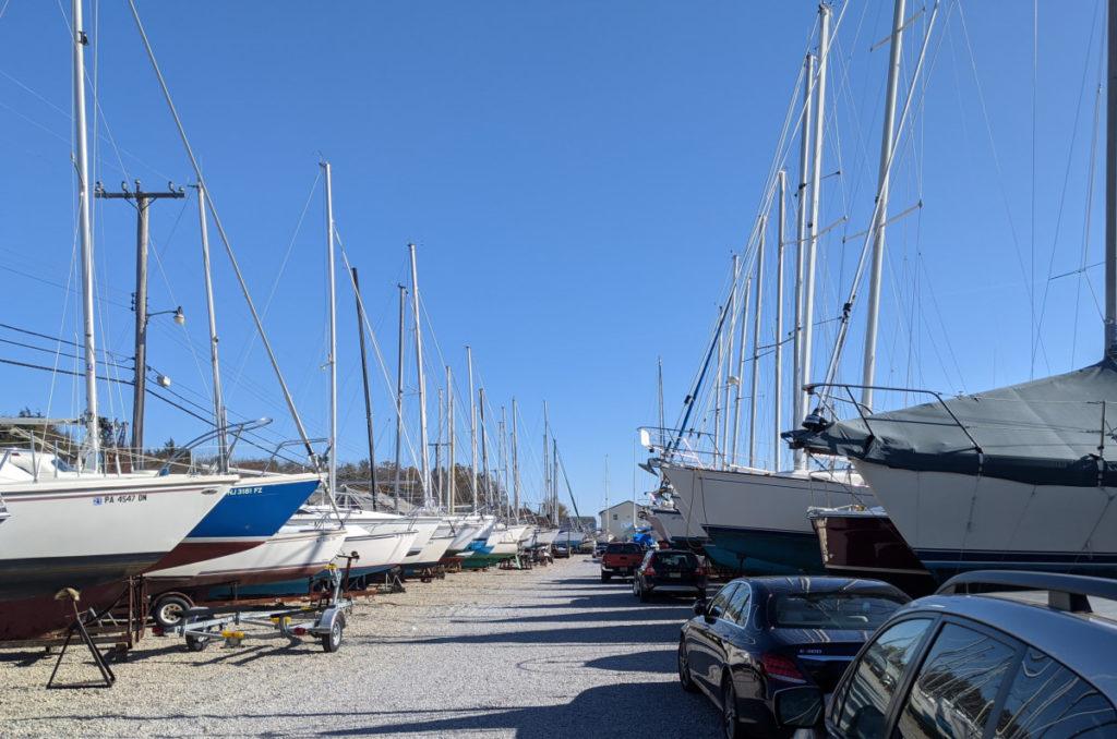 Boat Yard Full of Boats