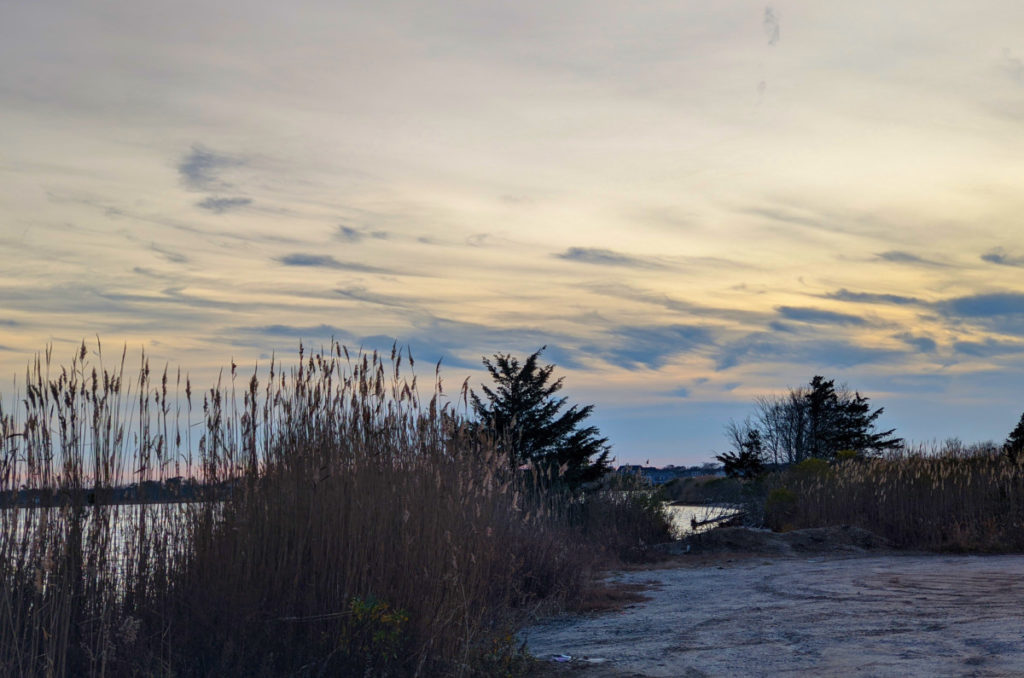 Sunset over Berkeley Island
