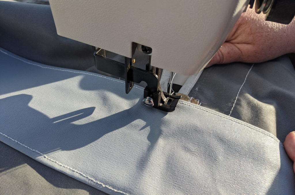 Sewing the Patch On