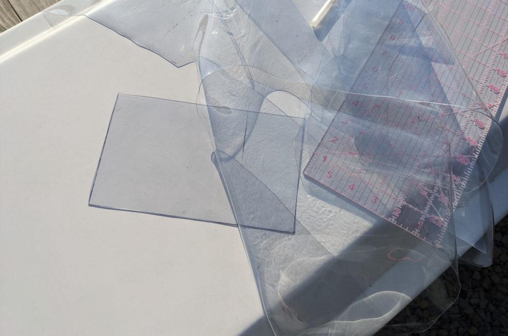 Piece of Clear Vinyl