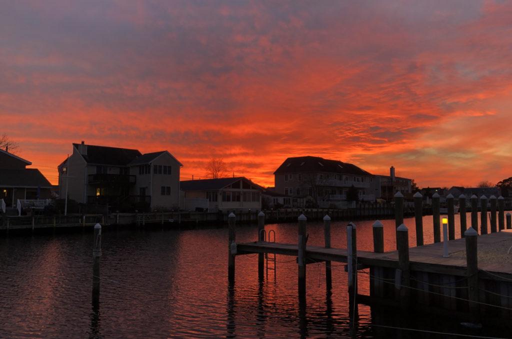 Red and Orange Sky