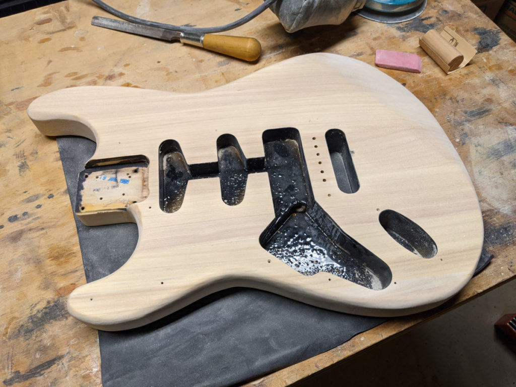 Guitar Body with no Finish