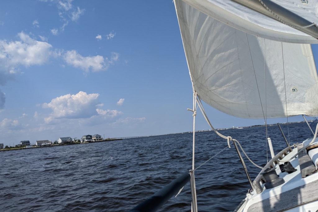 Sailing Under Clear Skies