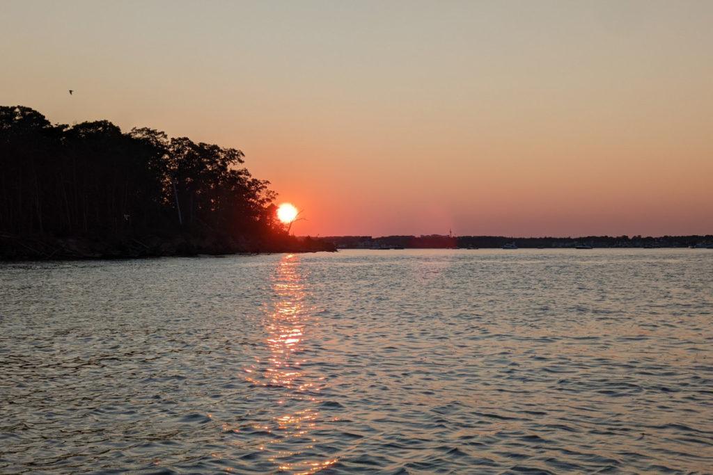 Silver Bay Sunset