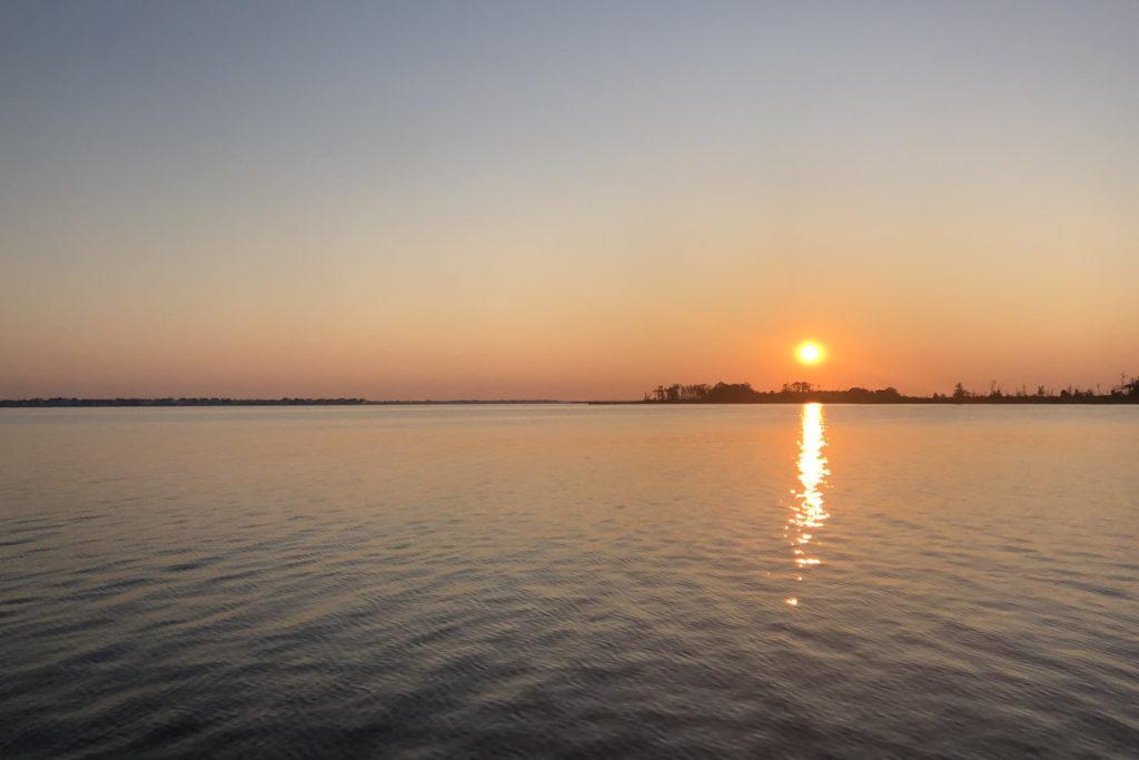 Sunrise over Silver Bay