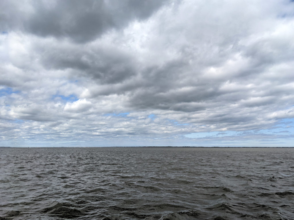 Cloudy Sky Over the Bay