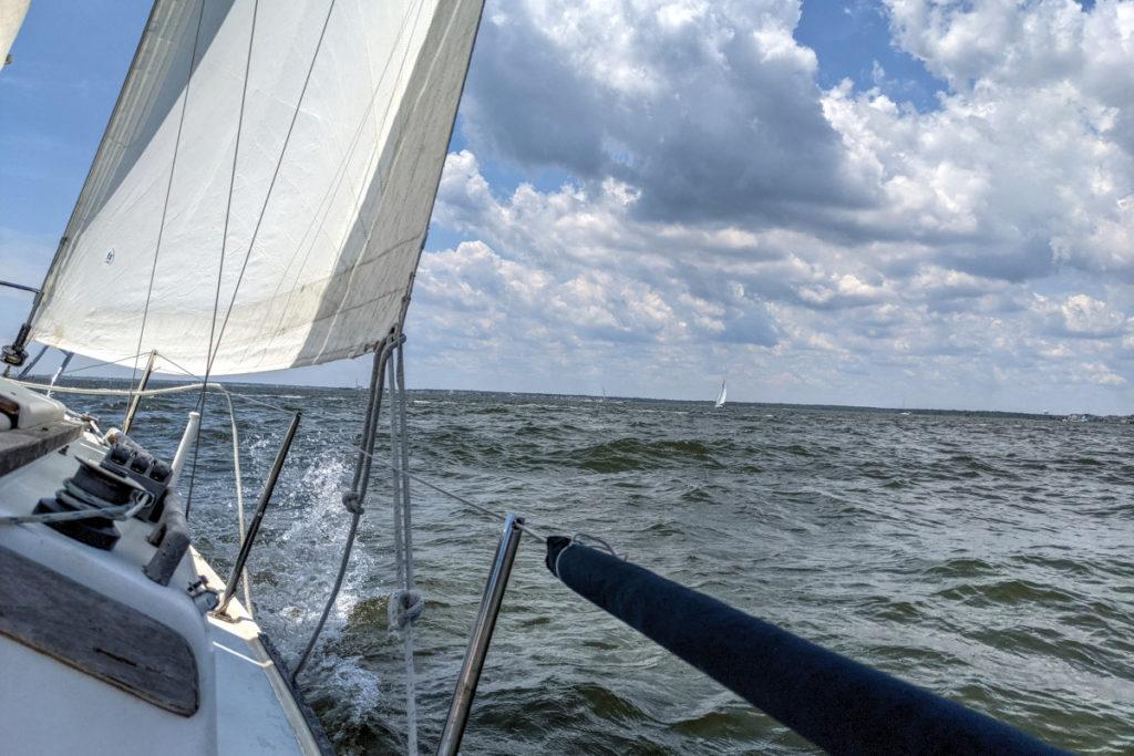 Sailing South on Port Tack