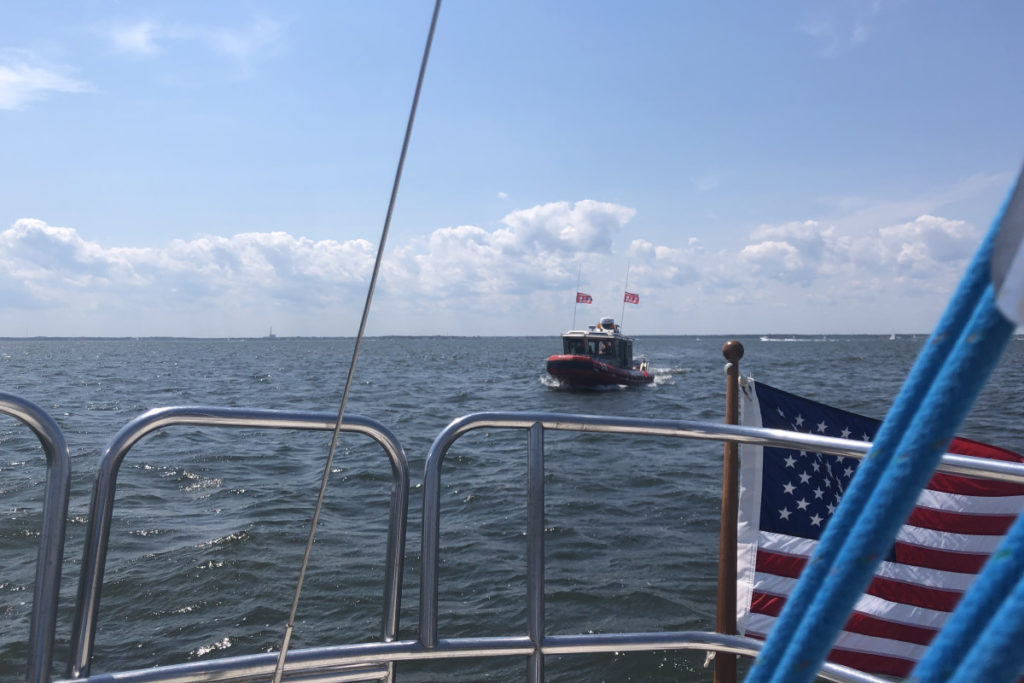 Tow Boat Approaching
