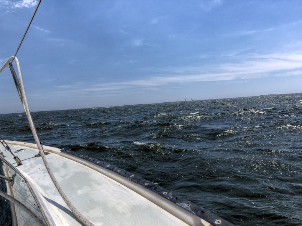 Rough Waters on Starboard Tack