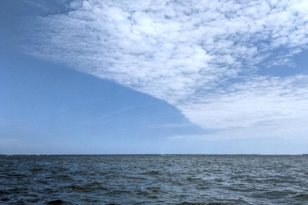 Weird Line of Clouds