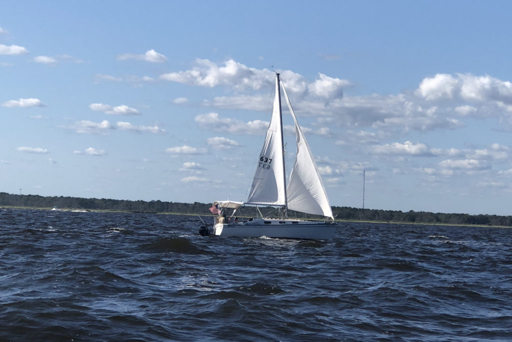 Slower Unknown Boat
