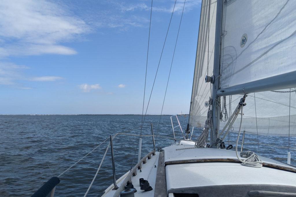 Sailing Toward Governor's