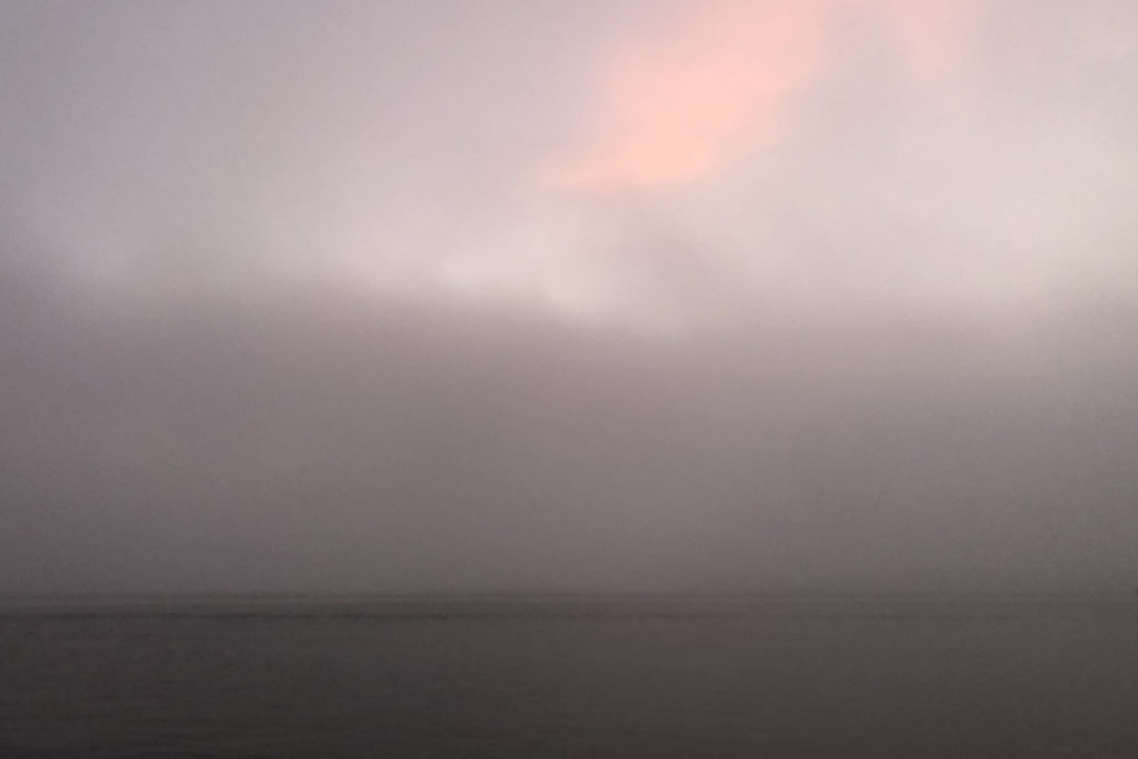 The Void—Unfocused Fog with Dawn Coloration