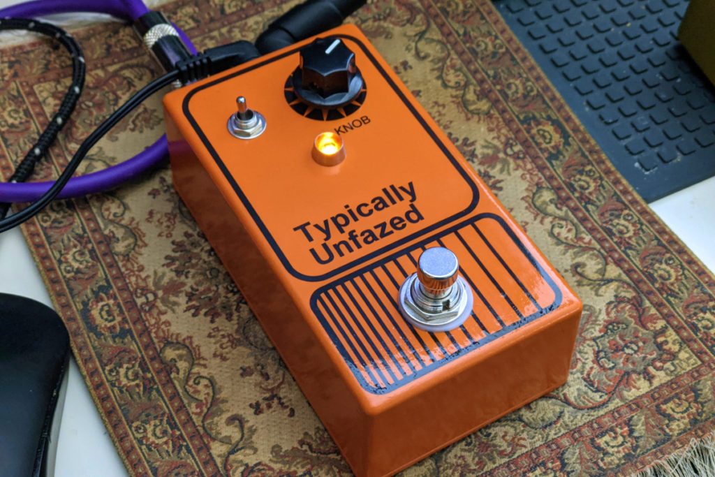 Typically Unfazed Phaser Pedal
